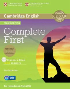 Complete First - Second Edition. Student's Book Pack (Student's Book with answers with CD-ROM, Class Audio CDs (2)) - Brook-Hart, Guy