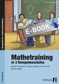 Mathetraining in 3 Kompetenzstufen - 7./8. Klasse (eBook, PDF)