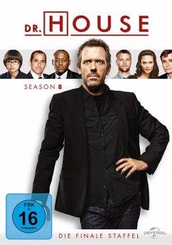 Dr. House - Season 8 DVD-Box - Hugh Laurie,Robert Sean Leonard,Jesse Spencer