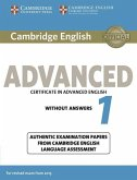 Cambridge English Advanced 1 for updated exam. Student's Book without answers