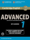 Cambridge English Advanced 1 for updated exam.Student's Book with answers and downloadable audio