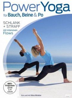 Power Yoga für Bauch, Beine, Po - Schlank + straff mit intensiven Flows - Winkler,Nina