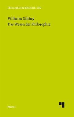Das Wesen der Philosophie (eBook, PDF) - Dilthey, Wilhelm