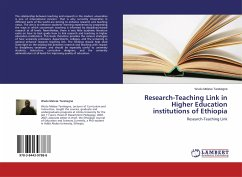 Research-Teaching Link in Higher Education institutions of Ethiopia