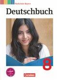 Deutschbuch 8. Jahrgangsstufe. Realschule Bayern Schülerbuch