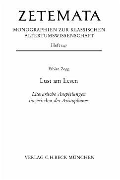 Lust am Lesen (eBook, PDF) - Zogg, Fabian
