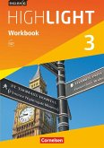 English G Highlight 03: 7. Schuljahr Hauptschule. Workbook mit Audios online