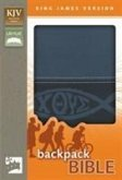 KJV, Backpack Bible, Imitation Leather, Blue