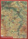 Weserbergland, Reliefpostkarte
