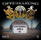 Entering Area 51 / Offenbarung 23 Bd.52 (1 Audio-CD)