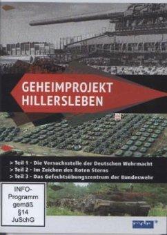 Geheimprojekt Hillersleben - Von Wehrmacht bis Bundeswehr, 1 DVD