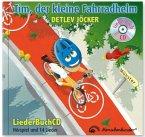 Tim, der kleine Fahrradhelm, m. Audio-CD