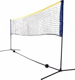 Donic-Schildkröt: Kombi Netz Set, für Badminton oder Volleyball, Höhe verstellbar