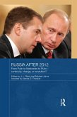Russia after 2012 (eBook, ePUB)