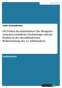 Die Vorhut des Antichristen? Die Mongolen zwischen christlicher Eschatologie und der Realität in der abendländischen Wahrnehmung des 13. Jahrhunderts