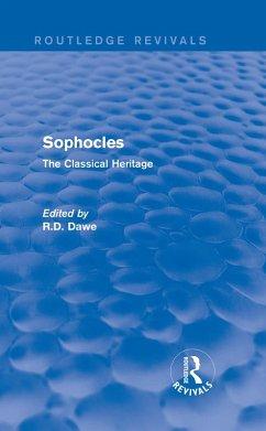 Sophocles (Routledge Revivals) (eBook, PDF) - Dawe, Roger