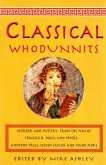 The Mammoth Book of Classical Whodunnits (eBook, ePUB)