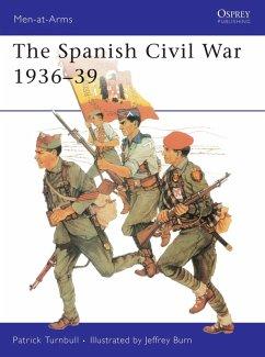 The Spanish Civil War 1936–39 (eBook, ePUB) - Turnbull, Patrick