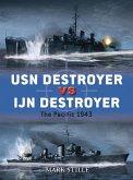 USN Destroyer vs IJN Destroyer (eBook, ePUB)