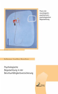 Psychologische Begutachtung in der Berufsunfähi...
