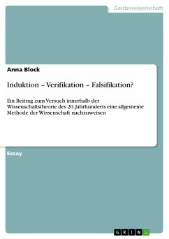 Induktion - Verifikation - Falsifikation?