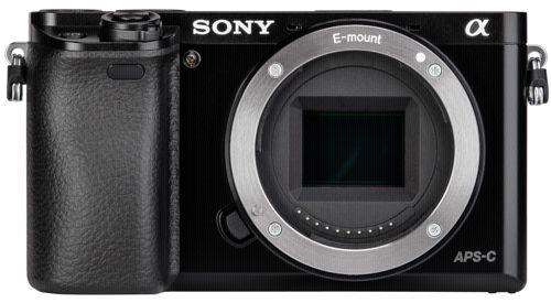 Sony Alpha 6000 Body Systemkamera schwarz