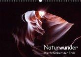 Naturwunder - Die Schönheit der Erde (Wandkalender immerwährend DIN A3 quer)