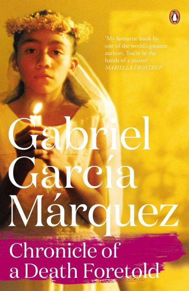 gabriel garcía márquez s chronicle of a Gabriel garcía márquez was born in 1927 in the small town of aracataca,  situated in a  s bernstein  chronicle of a death foretold  in his  autobiographical book vivir para contarla (2002) gabriel garcía márquez  mentions genève as the.