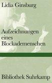 Aufzeichnungen eines Blockademenschen (eBook, ePUB)