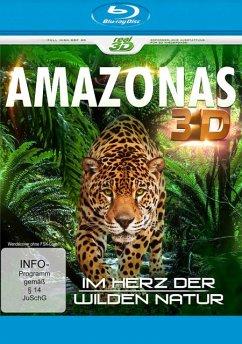 Amazonas - Im Herz der wilden Natur (Blu-ray 3D) - N/A