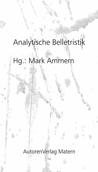 Analytische Belletristik (eBook, ePUB)