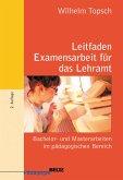 Leitfaden Examensarbeit für das Lehramt (eBook, PDF)