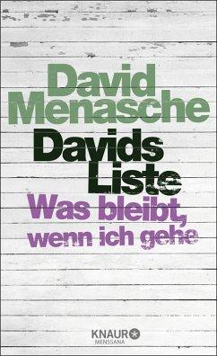 Davids Liste (eBook, ePUB) - Menasche, David