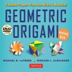 Geometric Origami Mini Kit: Folded Paper Fun for Kids & Adults! This Kit Contains an Origami Book with 48 Modular Origami Papers and an Instructio
