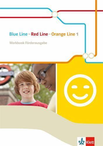 blue line red line orange line 5 klasse workbook f rderausgabe schulb cher portofrei bei. Black Bedroom Furniture Sets. Home Design Ideas