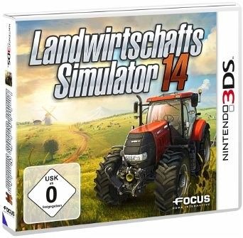 landwirtschafts simulator 14 nintendo 3ds spiel. Black Bedroom Furniture Sets. Home Design Ideas