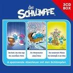 Die Schlümpfe - 3-CD Hörspielbox, 3 Audio-CDs
