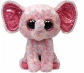 Ellie - Elefant pink gepunktet, 15cm