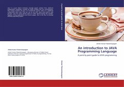 An introduction to JAVA Programming Language