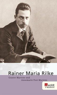 Rainer Maria Rilke (eBook, ePUB) - Martens, Gunter; Post-Martens, Annemarie