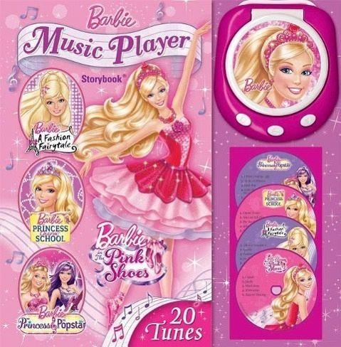 barbie music player storybook von barbie englisches buch. Black Bedroom Furniture Sets. Home Design Ideas