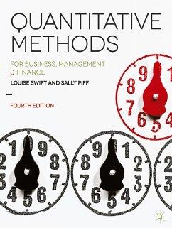 Quantitative Methods - Swift, Louise; Piff, Sally