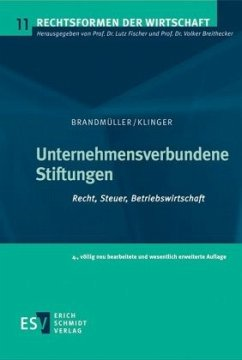 Unternehmensverbundene Stiftungen - Klinger, Thomas
