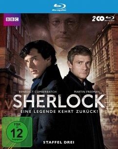 Sherlock - Staffel 3 - Cumberbatch,Benedict/Freeman,Martin