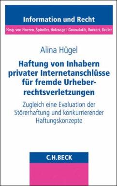 Haftung von Inhabern privater Internetanschlüsse für fremde Urheberrechtsverletzungen - Hügel, Alina
