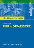 Der Hofmeister von J. M. R. Lenz.