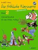 Die fröhliche Klarinette, Lehrbuch, m. Audio-CD