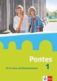 Pontes 1. Fit für Tests und Klassenarbeiten. Arbeitsheft mit Lösungen