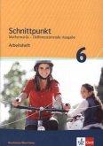 Schnittpunkt Mathematik - Differenzierende Ausgabe für Nordrhein-Westfalen. Arbeitsheft mit Lösungsheft 6. Schuljahr - Mittleres Niveau