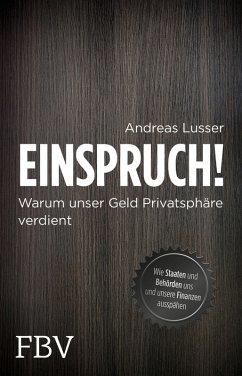 Einspruch! (eBook, ePUB) - Lusser, Andreas